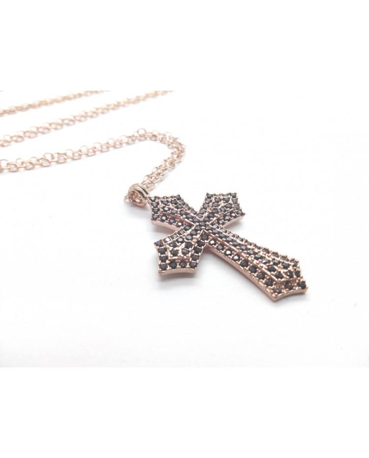 CL697 - Croce di zirconi