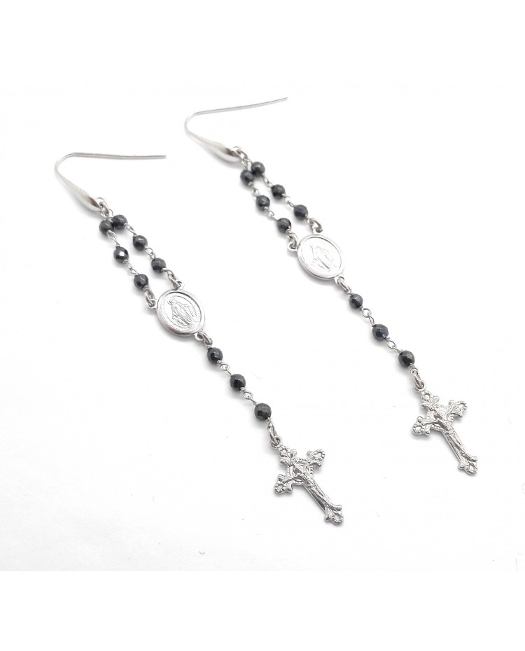OR708 - Rosary Earrings